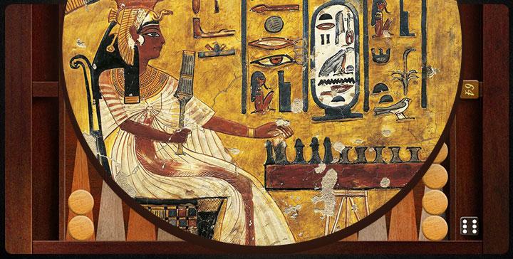 تخته نرد مصری