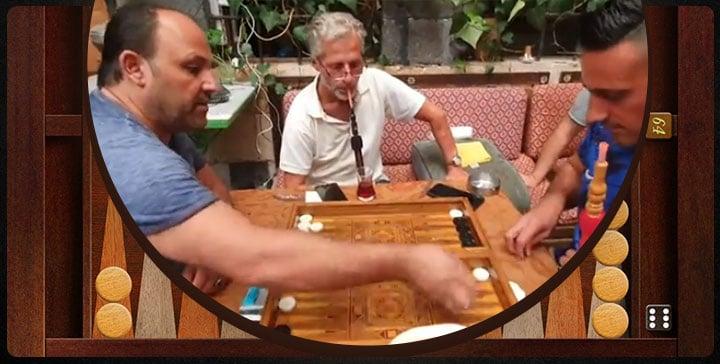 يك بازی تخته نرد در بیت جابری